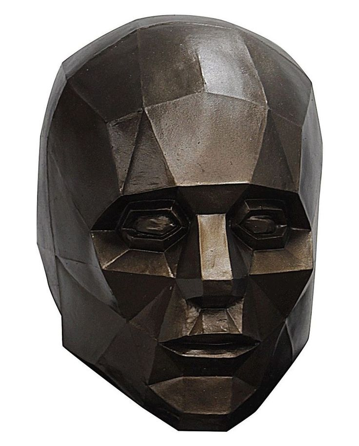 This mask got its inspiration from 3D computer graphics. It is described as a polygon mesh with a low number of polygons. This highly detailed mask is made from top quality latex and comes in Adult one size. | eBay!