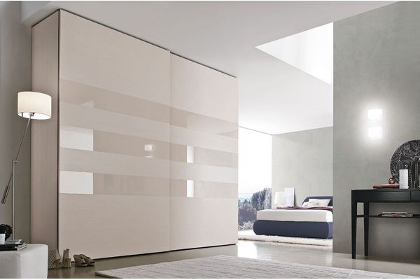 Gloss Lines Sliding Door Wardrobe- Cliff Young Furniture