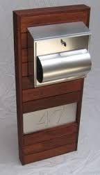 Image result for wooden letterbox design