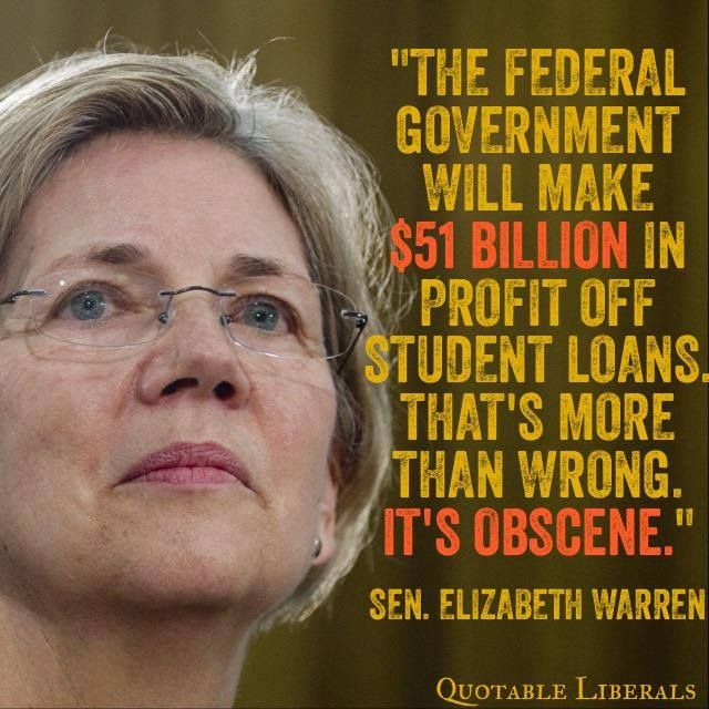My Grandson is in his second year at college and already so far in debt that it will take a chunk of money out of any years of work after school ends.  That's just not right!