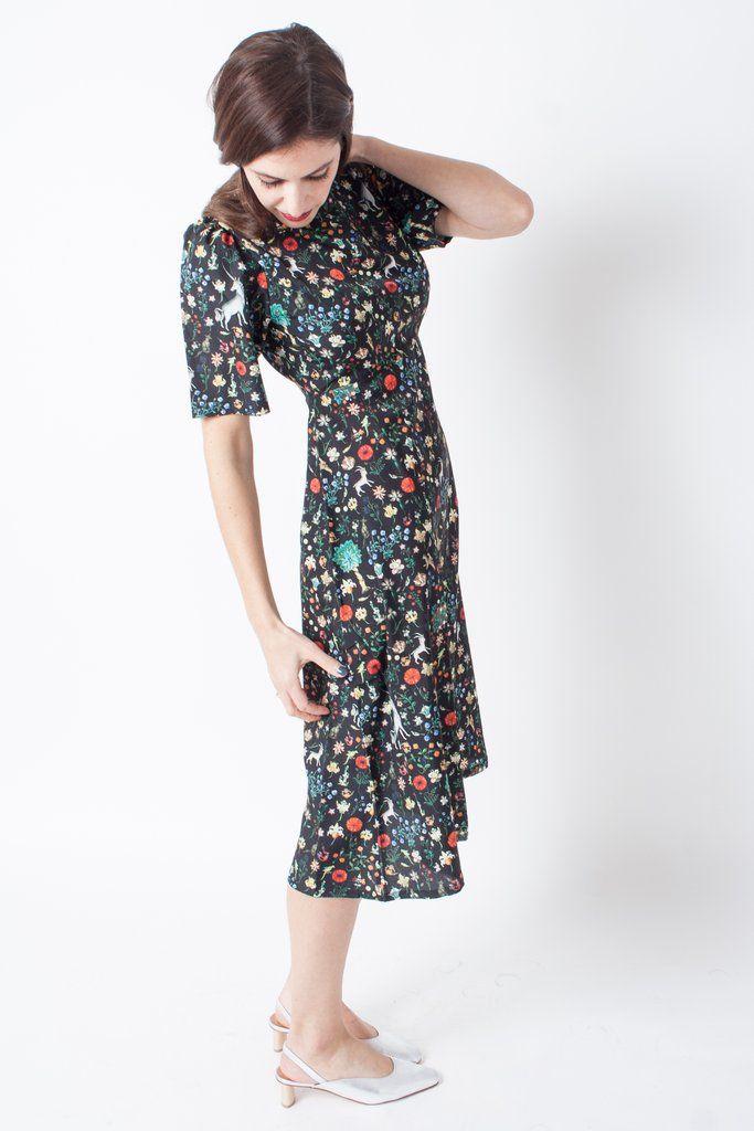 Samantha Pleet Noble Dress Black Illuminated | Dresses