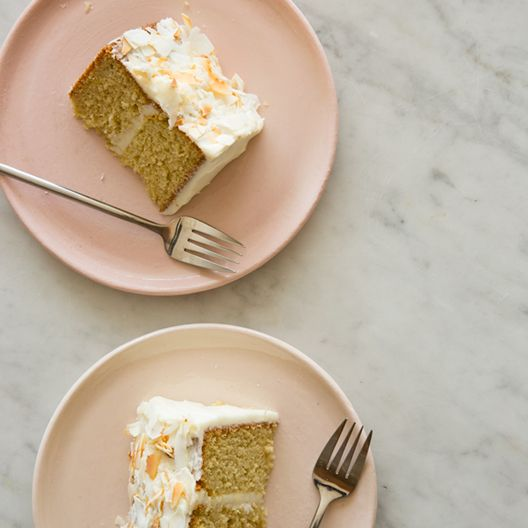 A recipe for Coconut Cake. A perfect cake to bake for Mothers Day!