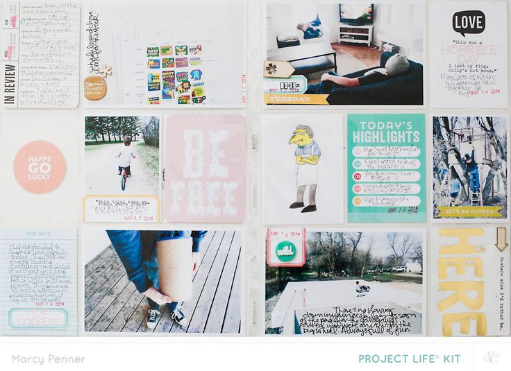 Sometime in May // Project Life Main only by marcypenner at @studio_calico