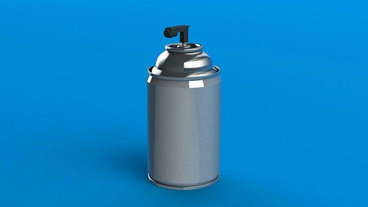 aerosol spray dispenser