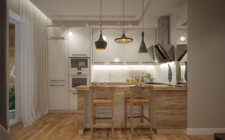 Hogyan rendezz be egy pici lakást otthonosan, szép, látványos elemekkel, kényelmes ággyal