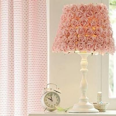 Girls Room DIY Lamp