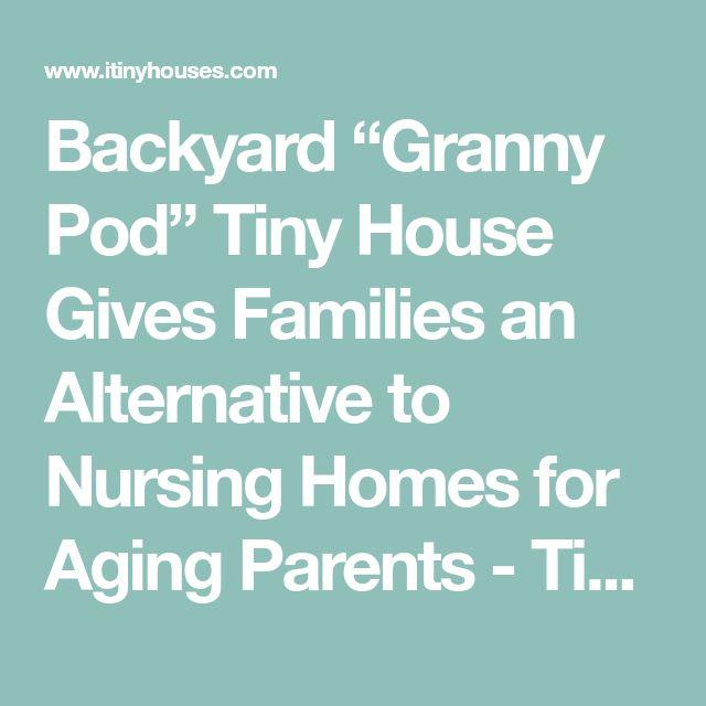 Best 25 Granny Pod Ideas On Pinterest Guest Cottage
