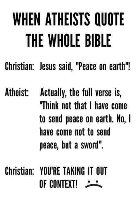 Atheists i need your help with this?