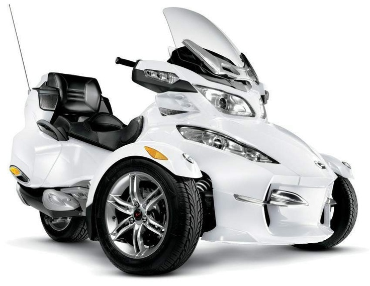 Can-Am Spyder RT Roadster Limited, 2012