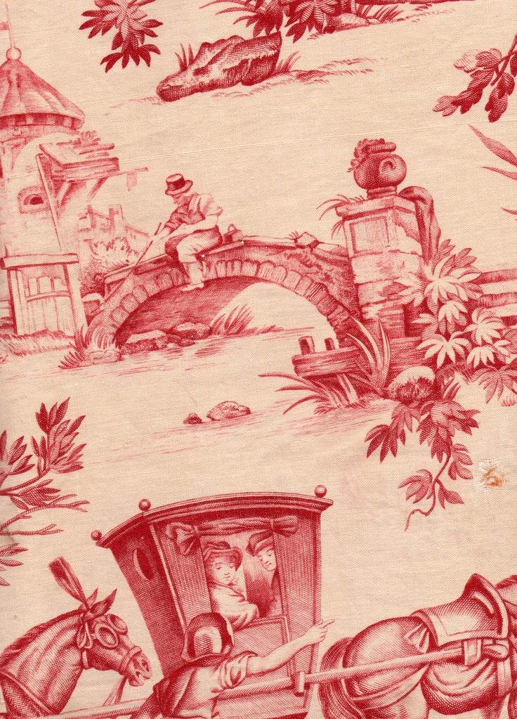 1000 images about toile de jouy on pinterest. Black Bedroom Furniture Sets. Home Design Ideas
