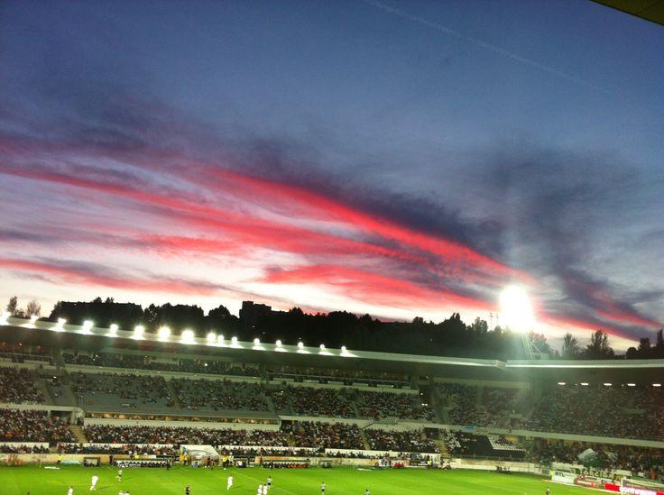 D. Afonso Henriques Stadium, home of Vitoria Sport Clube, Guimarães