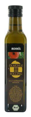 Kaltgepreßtes Mohnöl aus der Öhlmühle Solling ist einfach lecker