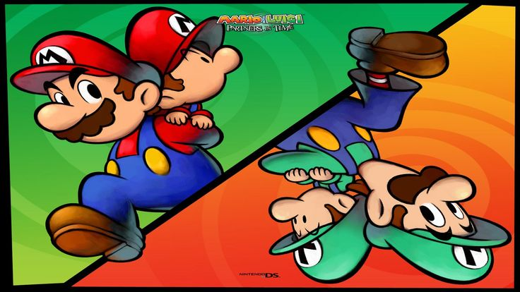 mario and luigi partners in time wallpaper free - mario and luigi partners in time category