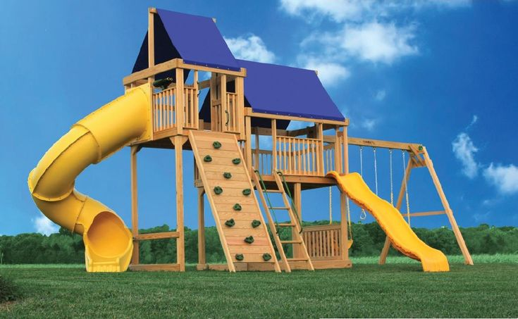 34 best swingset images on pinterest treehouse simple for Design your own playground online