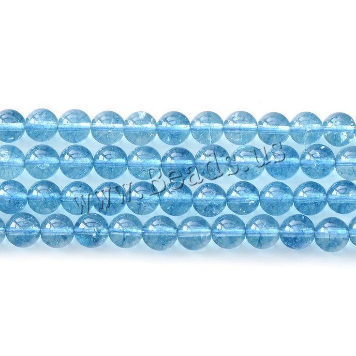 Crackle Quartz Beads, Round