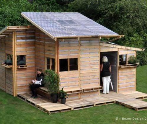 Pallet house: la casa economica fatta di pallet riciclati - Ambiente Bio