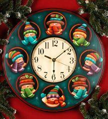 Snowflake Fantasy que ternura de reloj