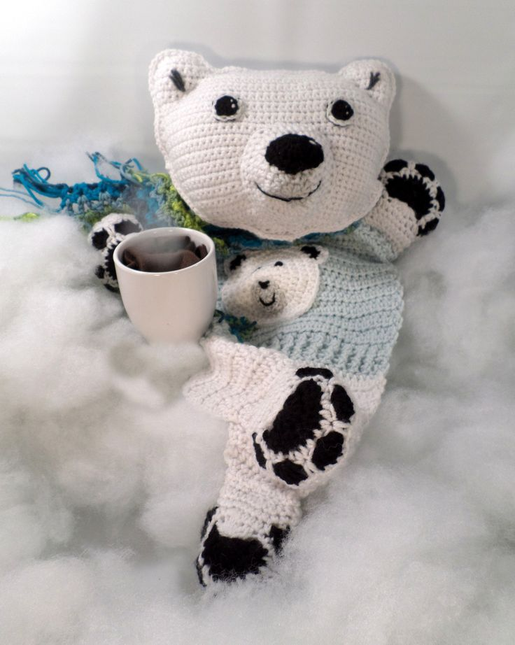 208 best crochet i like polar bears images on pinterest jumper the polar bear blankie buddy pattern by jenna wingate dt1010fo