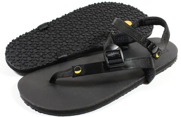 Luna Sandals - Adventure Sandals designed by Barefoot Ted, inspired by Tarahumara Huaraches.