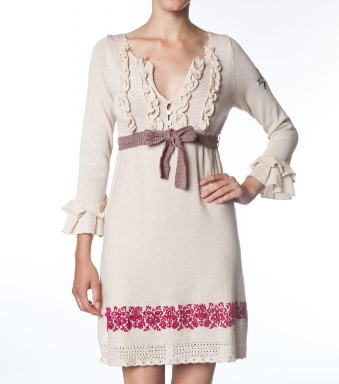 Pletené šaty 423