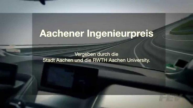 Aachener Ingenieurpreis/Aachen Engineering Award 2015: Professor Franz Pischinger