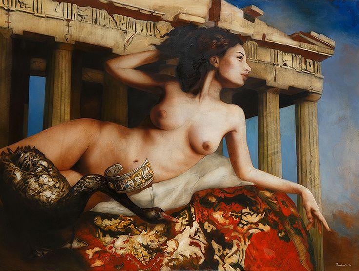 Leda Oil on Canvas 97x130cm