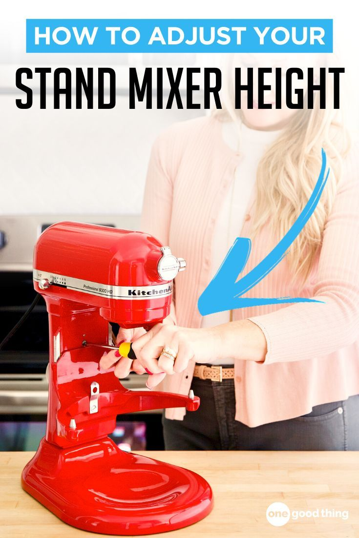 How To Adjust The Beater Height On Your Kitchenaid Stand Mixer Kitchen Aid Kitchenaid Stand Mixer Fun To Be One