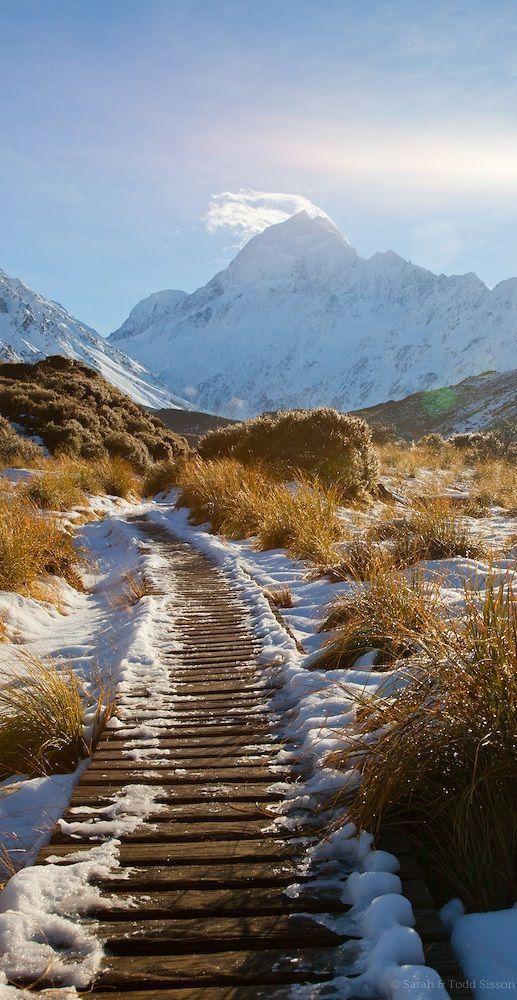 Hooker Valley track, Aoraki, NZ