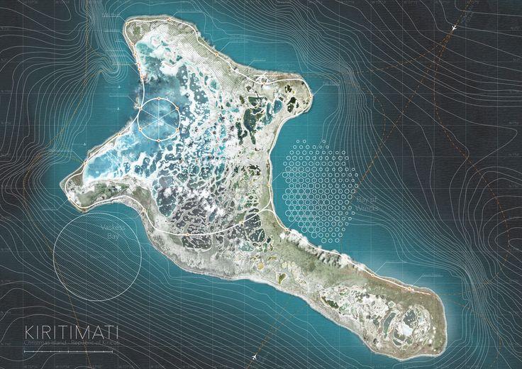 Axis Mundi - Fredrik Petersson A master plan for a space elevator on Kiritimati Island