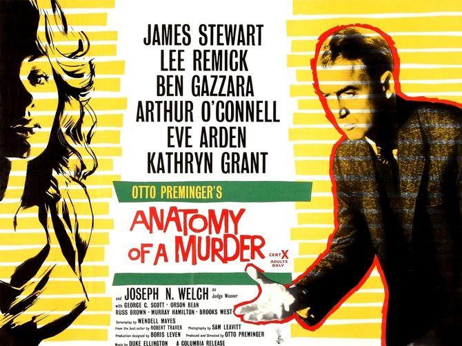 Where was anatomy of a murder filmed