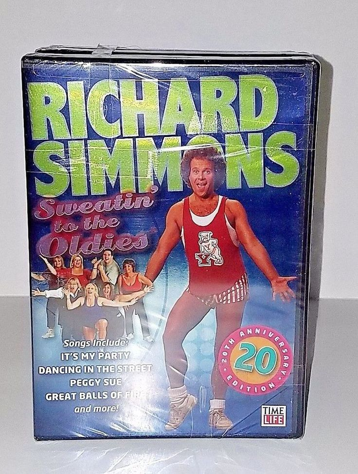 "Richard Simmons ""Sweatin' to the Oldies"" 20th Anniversary 7 DVD Set Brand New #RichardSimmons"