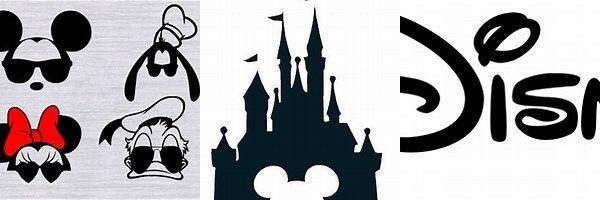 Free Disney SVG Files Logo | Cricut ideas | Disney logo, Cricut