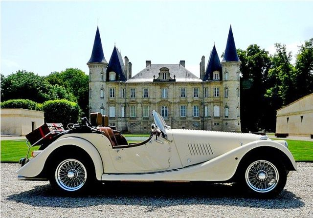Morgan car - Classic car hire in France   Your French Holidays...this is the way to see France