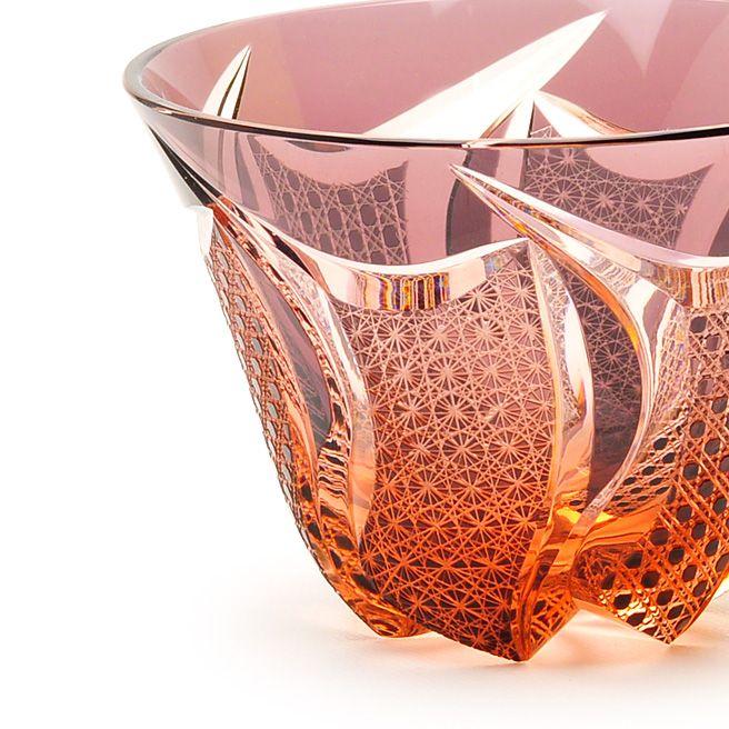Japanese Edo Kiriko glass