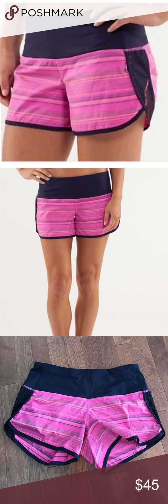 Lululemon Run: Sun Sprinter Short sz4 Lululemon Run: Sun Sprinter Short. Sz4. Great used condition. lululemon athletica Shorts
