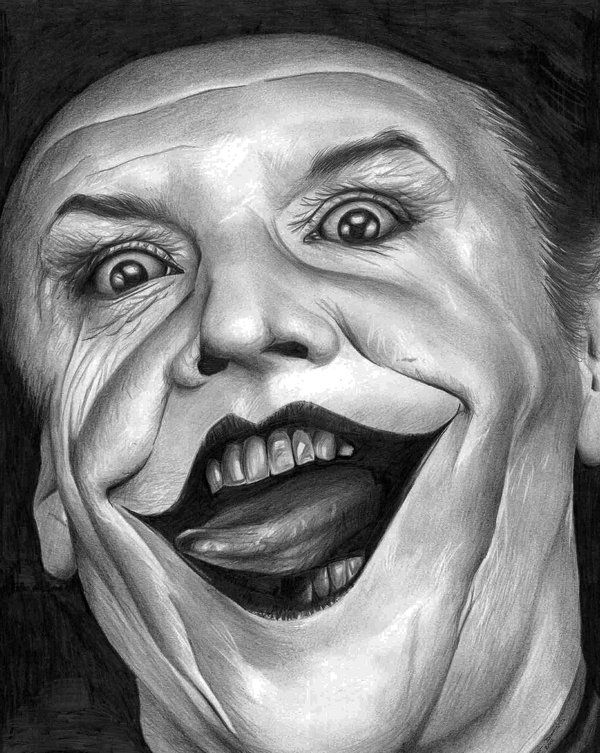 Jack Nicholson Joker by donchild on DeviantArt