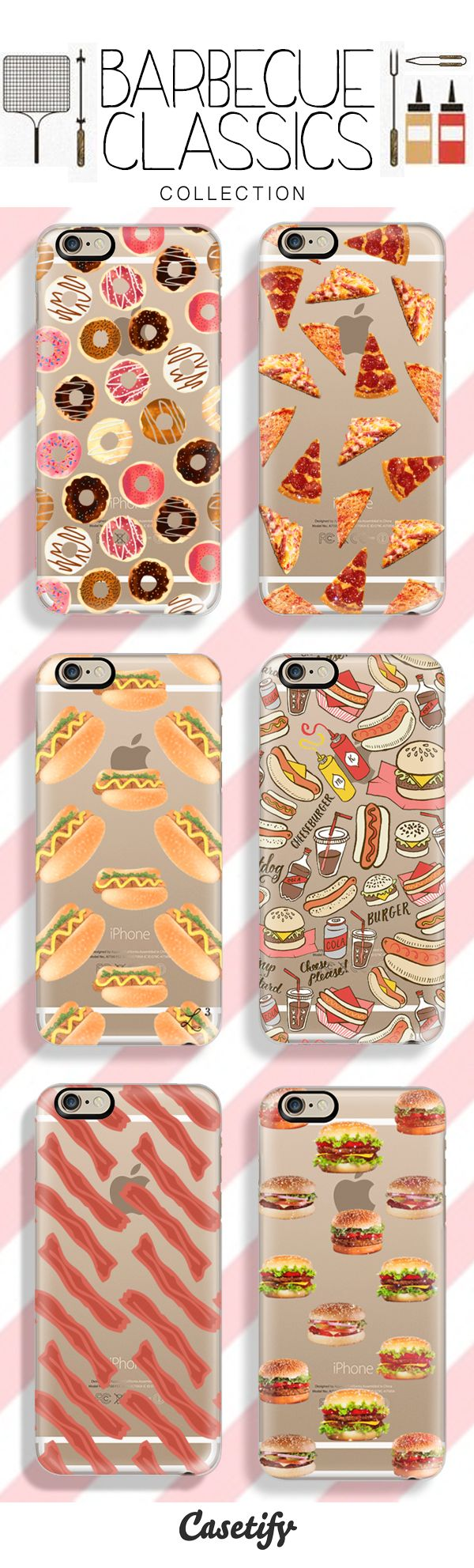 Planning a Summer Barbecue Party? You might just need these for your guests as well! Shop our Barbecue Themed Collection Here: http://www.casetify.com/artworks/EsCWhX3JxM