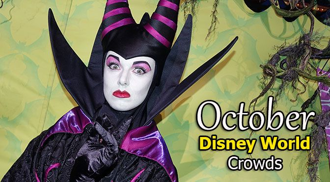 Disney World Crowd Calendar October 2017 with park hours, show schedules, fastpass dates, dining booking dates, best parks