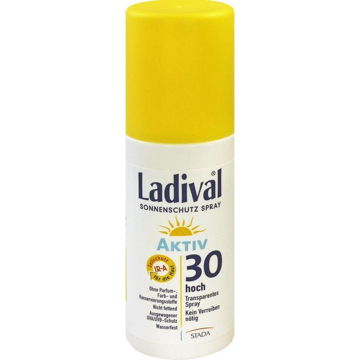 LADIVAL Sonnenschutzspray - Sonnenspray LSF 30:   Packungsinhalt: 150 ml Spray PZN: 09098331 Hersteller: STADA GmbH Preis: 10,88 EUR…