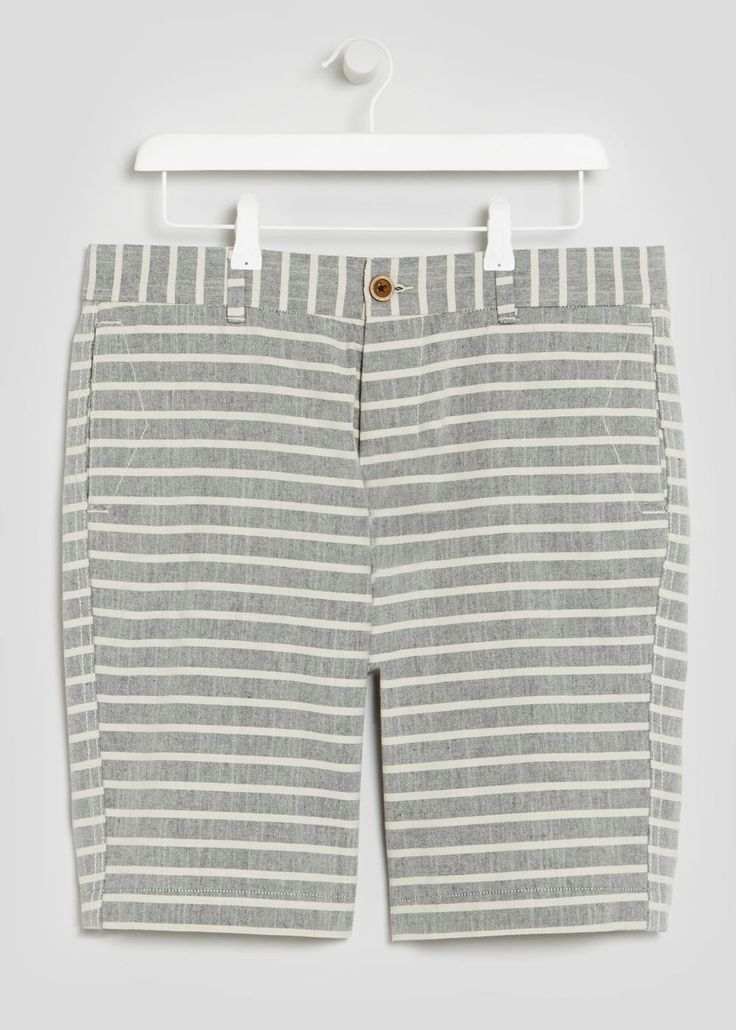 Stripe Chino Shorts