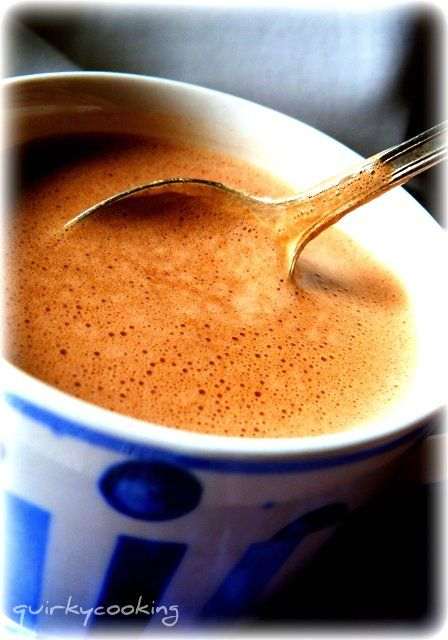 BEST HOT CHOCOLATE EVER!!!! Quirky Cooking: Creamy Hot Chocolate (Dairy Free)