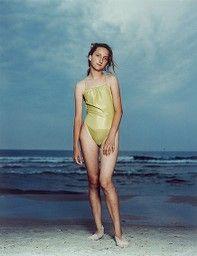 "Rineke Dijkstra Dutch, born 1959, ""Kolobrzeg, Poland, July 26, 1992,"" from Beach Portraits"
