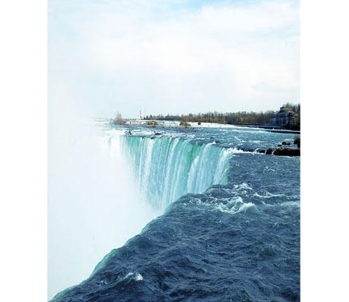 Horseshoe Falls, part of Niagara Falls in CanadaHorseshoes Fall, Niagara Falls