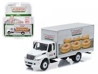 Wish | 2013 International Durastar Box Van Krispy Kreme Donuts Delivery Truck HD Trucks Series 4 1/64 Diecast Model Greenlight