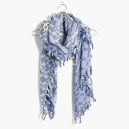 Madewell+-+Oversized+Gridweave+Scarf