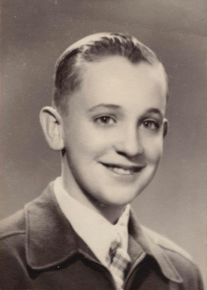 Pope Francis as a boy.