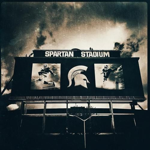 Awesome photograph of Spartan Stadium! #Michigan #MSU #Football
