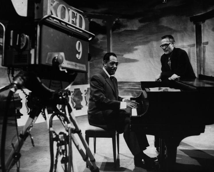 Duke Ellington and Ralph J. Gleason © Gleason