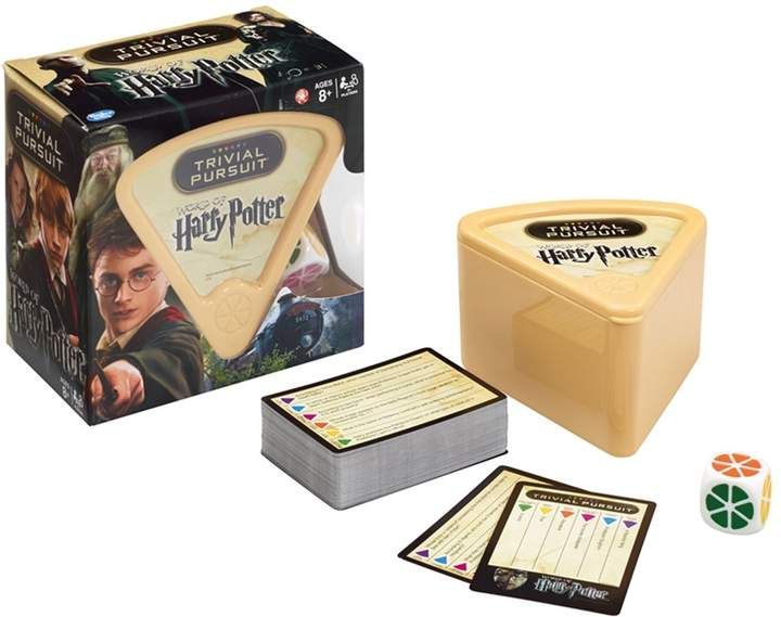 Trivial Pursuit Harry Potter game | Gift Ideas for a potter head | hogwarts |  #afflink