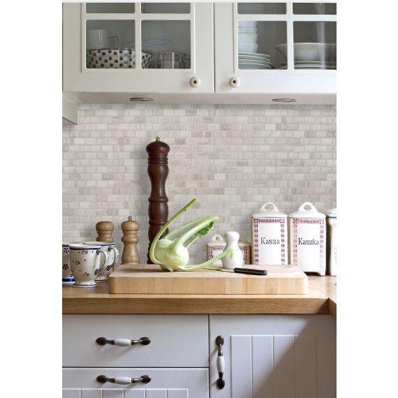 Ravenna Farro Smart Tiles Backsplash Smart Tiles Tiles